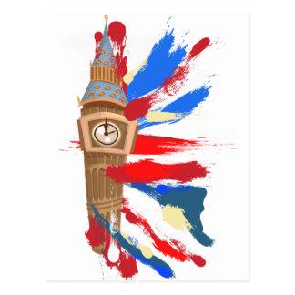 Big Ben Westminster Clock Tower Postcard