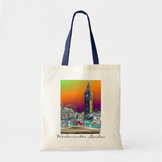 Big Ben Westminster I Love London UK bag