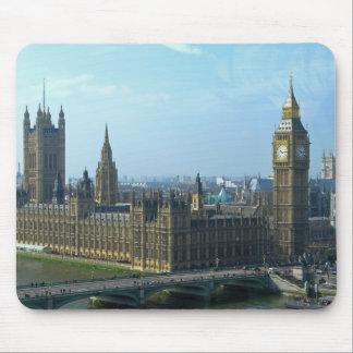 Big Ben y casas del parlamento - Londres Alfombrillas De Raton