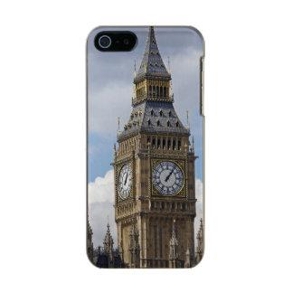 Big Ben y casas del parlamento, Londres, Carcasa De Iphone 5 Incipio Feather Shine