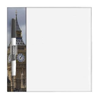 Big Ben y casas del parlamento, Londres, Pizarra