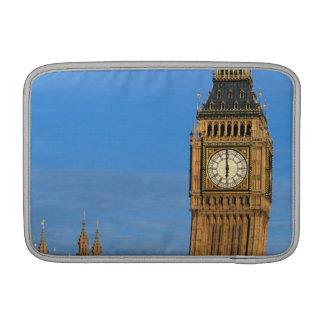 Big Ben y edificio del parlamento Fundas Para Macbook Air