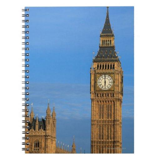 Big Ben y edificio del parlamento Cuadernos