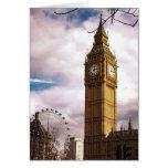 Big Ben y el ojo de Londres Felicitacion