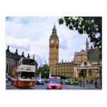 Big Ben y el palacio de Westminster Postal