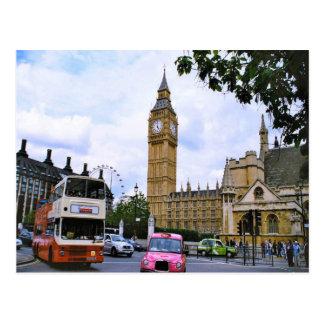 Big Ben y el palacio de Westminster Tarjetas Postales