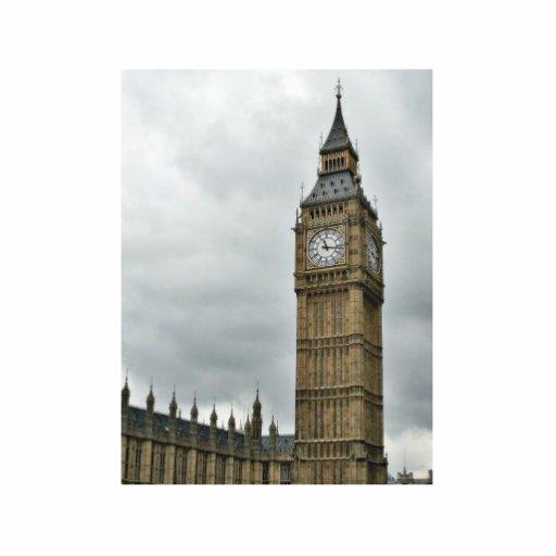 Big Ben y las casas del parlamento en Londres Escultura Fotográfica