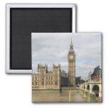 Big Ben y las casas del parlamento Londres Imanes De Nevera