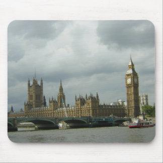 Big Ben y las casas del parlamento Tapetes De Raton