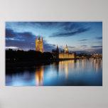 Big Ben y palacio de Westminster en la noche Impresiones