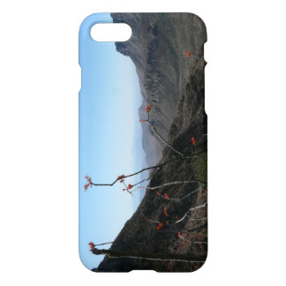 Big Bend-Mountains with Ocotillo Flower iPhone 7 Case