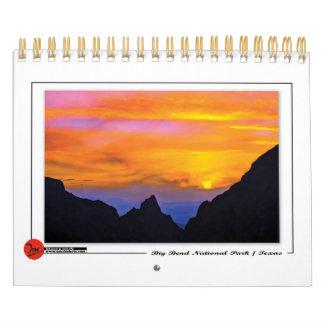 Big Bend National Park Calendar