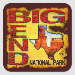 Big Bend National Park Square Stickers