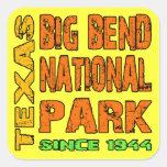 Big Bend National Park, Texas Square Sticker