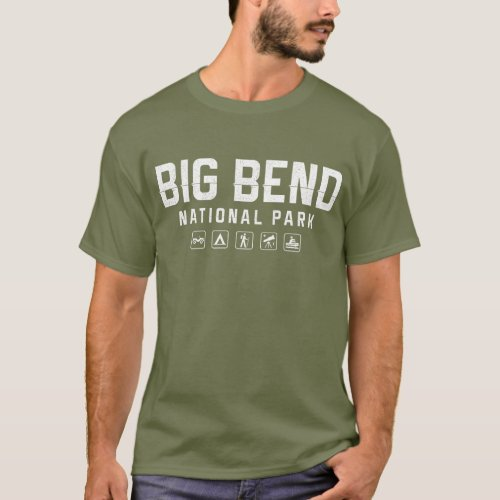 Big Bend National Park Texas tshirt _ dark