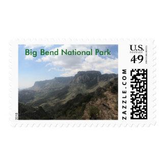 Big Bend Postage Stamp