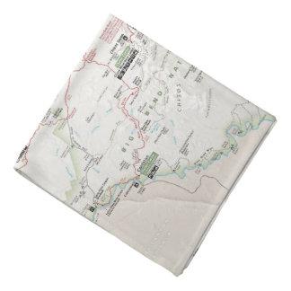 Big Bend (Texas) map bandana