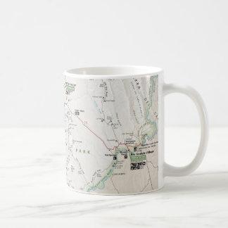 Big Bend (Texas) map mug