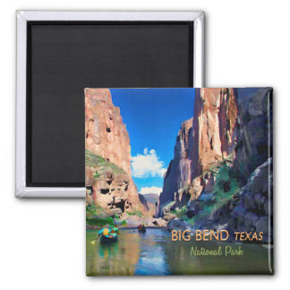 Big Bend Texas National Park Mariscal Canyon Magnet