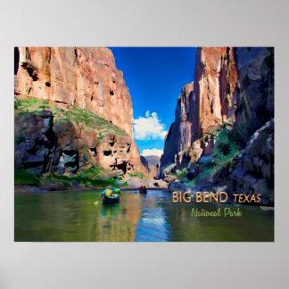 Big Bend Texas National Park Mariscal Canyon Poster