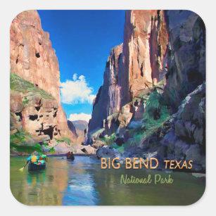 Big Bend Texas National Park Mariscal Canyon Square Sticker