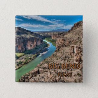 Big Bend Texas National Park Rio Grande Button