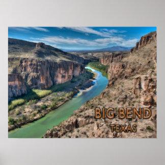 Big Bend Texas National Park Rio Grande Poster