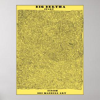 Big Bertha Maze Poster