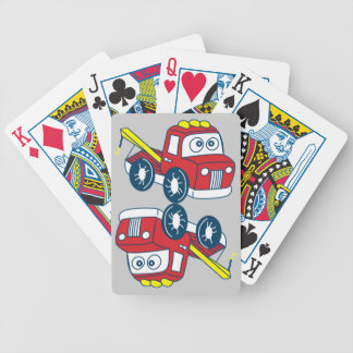 Big Bertha Tow Cards Bicycle Playing Cards