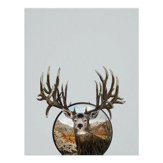 Big big buck letterhead