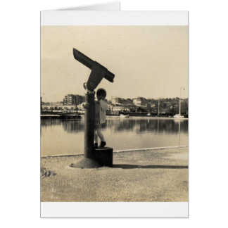 Big Binocular Card