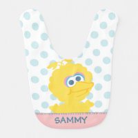 Big Bird Baby Body | Add Your Name Baby Bib