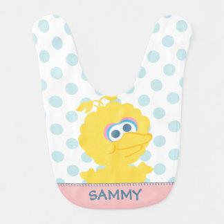 Big Bird Baby Body | Add Your Name Baby Bib