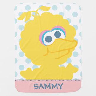 Big Bird Baby Body Swaddle Blanket