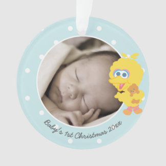 Big Bird | Baby's First Christmas - Add Your Name Ornament