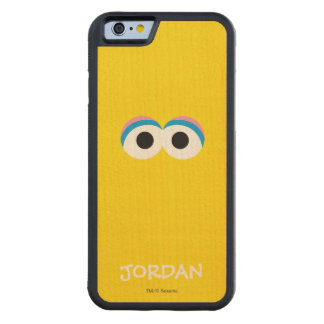 Big Bird Big Face | Add Your Name Carved Maple iPhone 6 Bumper Case