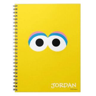 Big Bird Big Face   Add Your Name Notebook