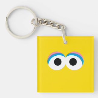 Big Bird Big Face Double-Sided Square Acrylic Keychain