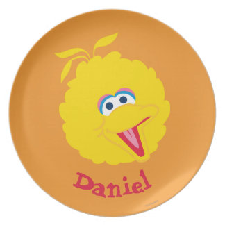 Big Bird Face | Add Your Name Dinner Plate
