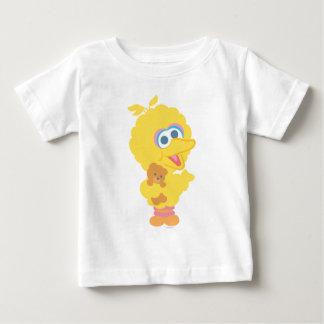 Big Bird Holding Teddy Bear T-shirt