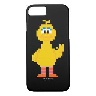 Big Bird Pixel Art iPhone 8/7 Case
