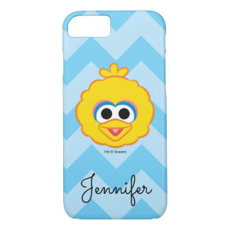Big Bird Smiling Face | Add Your Name iPhone 8/7 Case