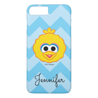 Big Bird Smiling Face | Add Your Name iPhone 8 Plus/7 Plus Case