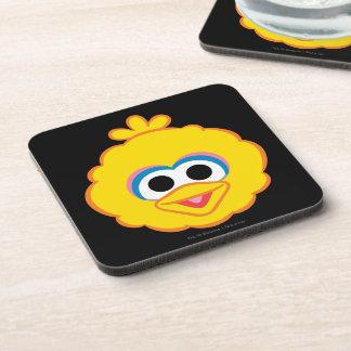 Big Bird Smiling Face Beverage Coaster