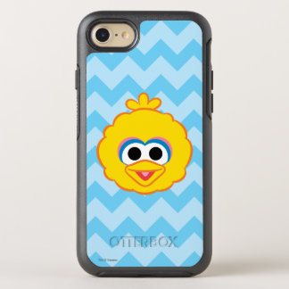 Big Bird Smiling Face OtterBox Symmetry iPhone 8/7 Case