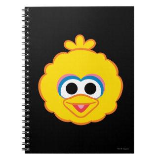 Big Bird Smiling Face Spiral Notebook