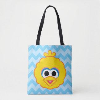 Big Bird Smiling Face Tote Bag