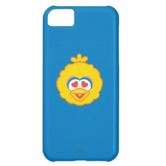 Big Bird Smiling Face with Heart-Shaped Eyes iPhone 5C Case