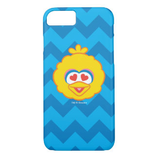 Big Bird Smiling Face with Heart-Shaped Eyes iPhone 8/7 Case