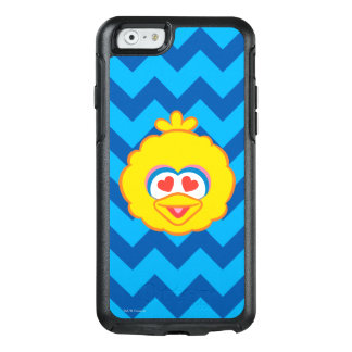 Big Bird Smiling Face with Heart-Shaped Eyes OtterBox iPhone 6/6s Case